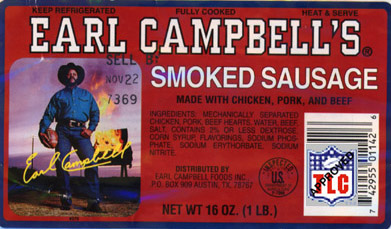 Earl campbell hotlink